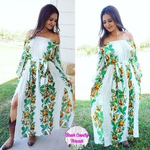 ec9d22d28ef9 Crazy Train Dresses | The Jenny Dress Off The Shoulder Boho Flower ...